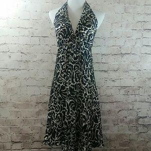 White House/ Black Market halter dress size 6